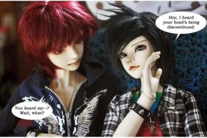 Boys Gossip Too by RodianAngel