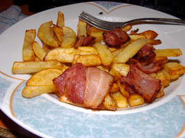potatoes and bacon by unqart