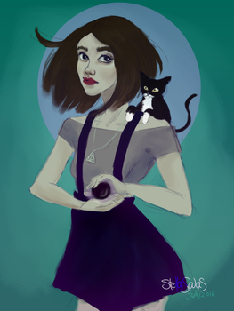 Witchy art challenge 01 by yo-sociopath