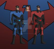 Cam's DCAU Nightwing 2.0 by 2ndMercWithAMouth