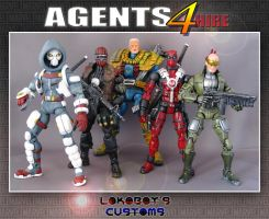 Agents For Hire by Lokoboys