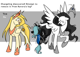 Changeling Discovered! by Valkyrie-Girl