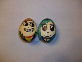 Scott and Ramona Eggs by icygumball3000