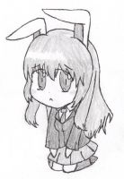 I drew a bunny by GlassMan-RV