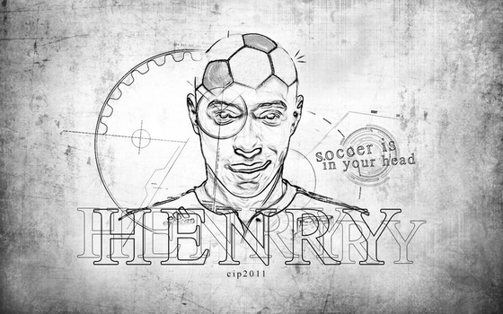 Henry, Soccer is in your head by MarcoAncona