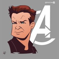Clint Barton by RickCelis