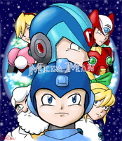 Megaman and Company by hollowzero