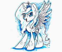 Gift ~ Queen Frostile by Iluvvanellope
