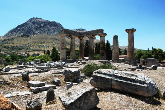 Ancient Corinth by Agen0r