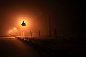 Foggy Night by VarunThottathil