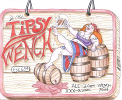 Ye Olde Tipsy Wench by LimeGreenSquid