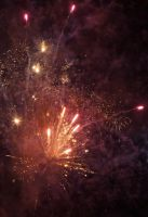 New year 2013: Fireworks 4 by VincentPhotography