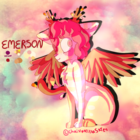 Emerson - Reference Sheet - Animal Form by ChaiVanillaSkies