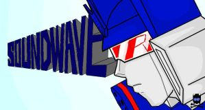 Soundwave Masked Off by PirateNikki