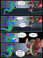 Training Kukulkan by Psycho-Snail