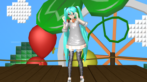 .:DT Stroll Style Miku:. + DL by Sushi-Kittie