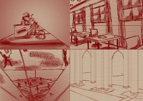 Day 2 - Perspective Study by AnayaDeath
