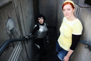 April O'Neil/Karai TMNT 2012 by Elita-01