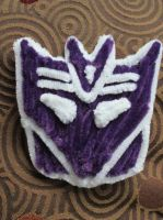 Pipe Cleaner Decepticon Logo by DarkSaberCat