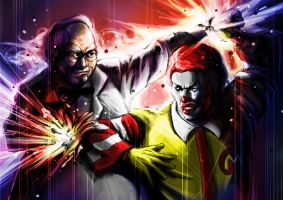 Ronald Vs Colonel by Ken-Sanada