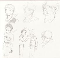 Your Hit Parade Sketches by DanaksZoul