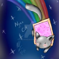 Nyan Cat by Shadow1kid