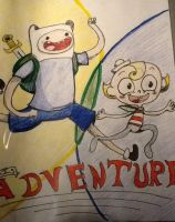 Misadventure Time! by HonorandPride