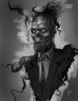 Zombie Jim by AlexRuizArt