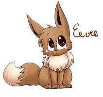 +Eevee+ by Kitzophrenic