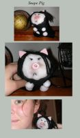 Homemade Snape Pig by SocklessAppetite