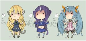 Leftover Magical Kittycorn Adopts [CLOSED] by WanNyan