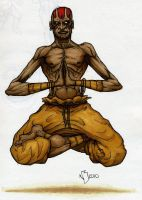 dhalsim markers by nickybeats