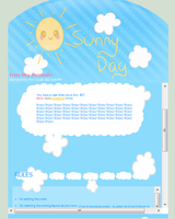 Free Sunny Day Journal Skin by PeppermentPanda