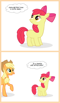Applebloom - Better than a cutie mark by silberhase