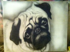 Pug Face by Basquine