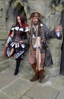 Captain Jack and Fem Assassin (1) by masimage