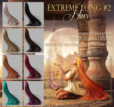 extreme long #2 HAIR STOCK by Trisste-stocks