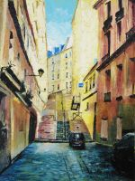 Montmartre, Paris (2013) by danielcormier