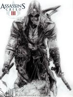 Assassin's Creed 3 Connor Ratohnhaketon FINAL- by GabrielArtist