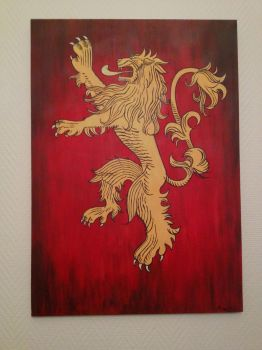 Game of Thrones : Lannister Lion by Angelik23
