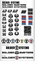 Soldier Systems Logo Spread by djmonkeyboy