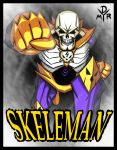 SKELEMAN by BrokenHAX