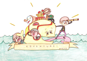 The Marvelous Misadventures of the Beatles by MissArisu