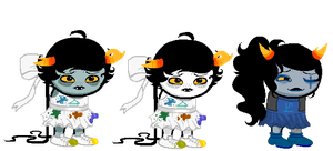 Fantroll sprites by the-batter