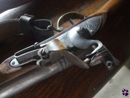 HI 05 - The Lock of the Brown Bess Musket by LacedShadowDiamond