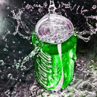 coca cola green by SaphoPhotographics