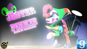 (DL)(SFM)(GMOD) Jester Pinkie Pie by Dracagon