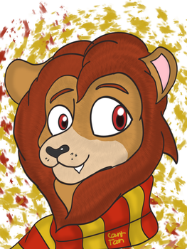 Gryffindor Lion Icon by Count-Toon