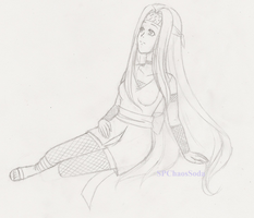 Old OC -Setsuki- Sketch by ChaosSoda
