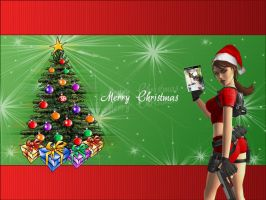 Merry Christmas From Lara-SF by Spitfire3